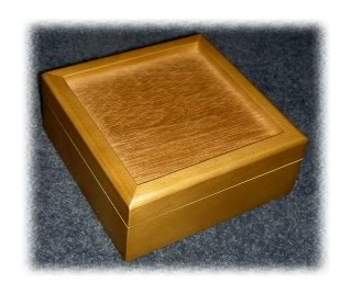 Alderwood Hinged Box