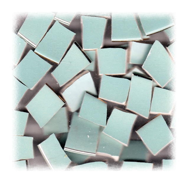 Blue Broken China Mosaic Tiles